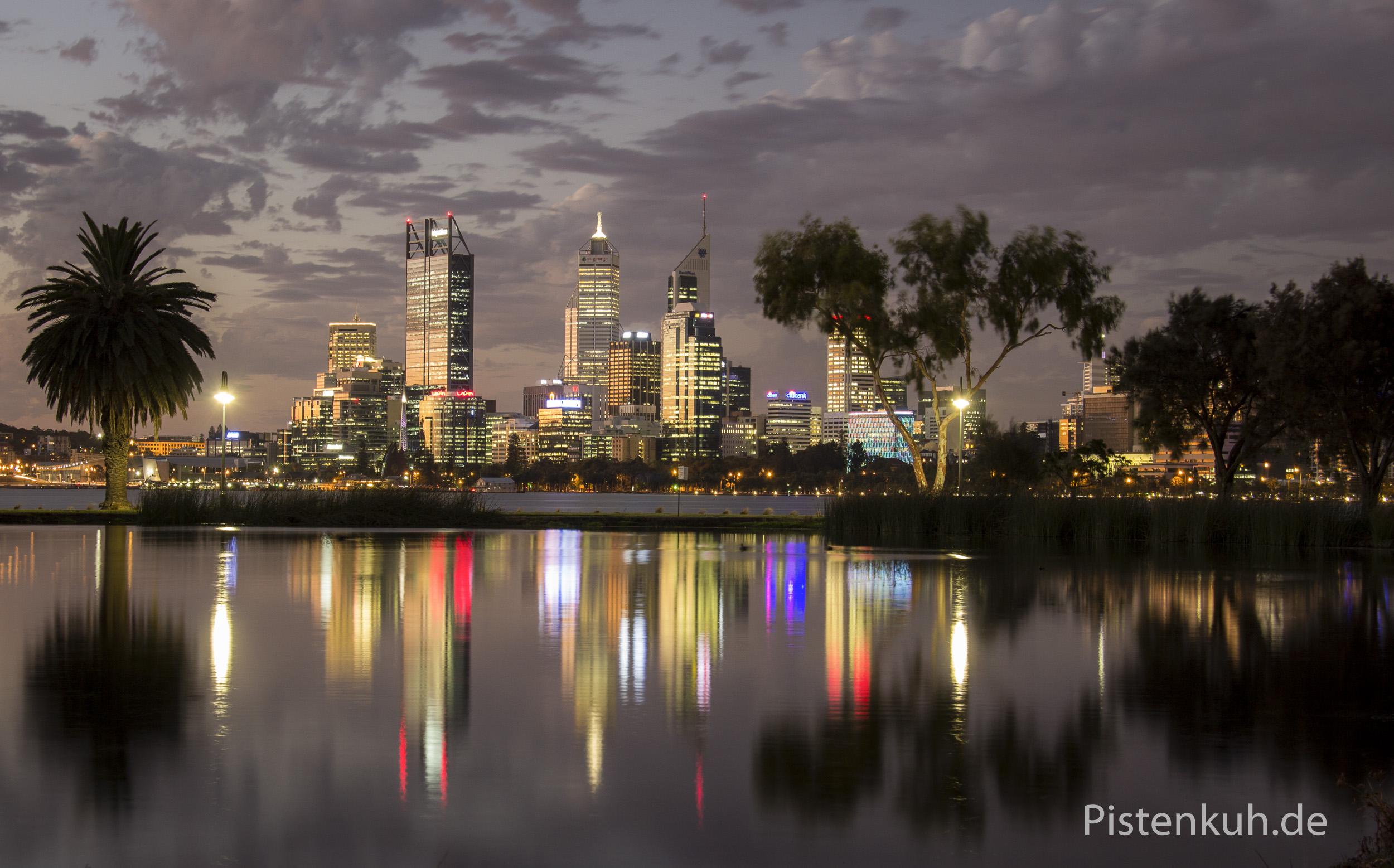 Australien-Perth-Nacht