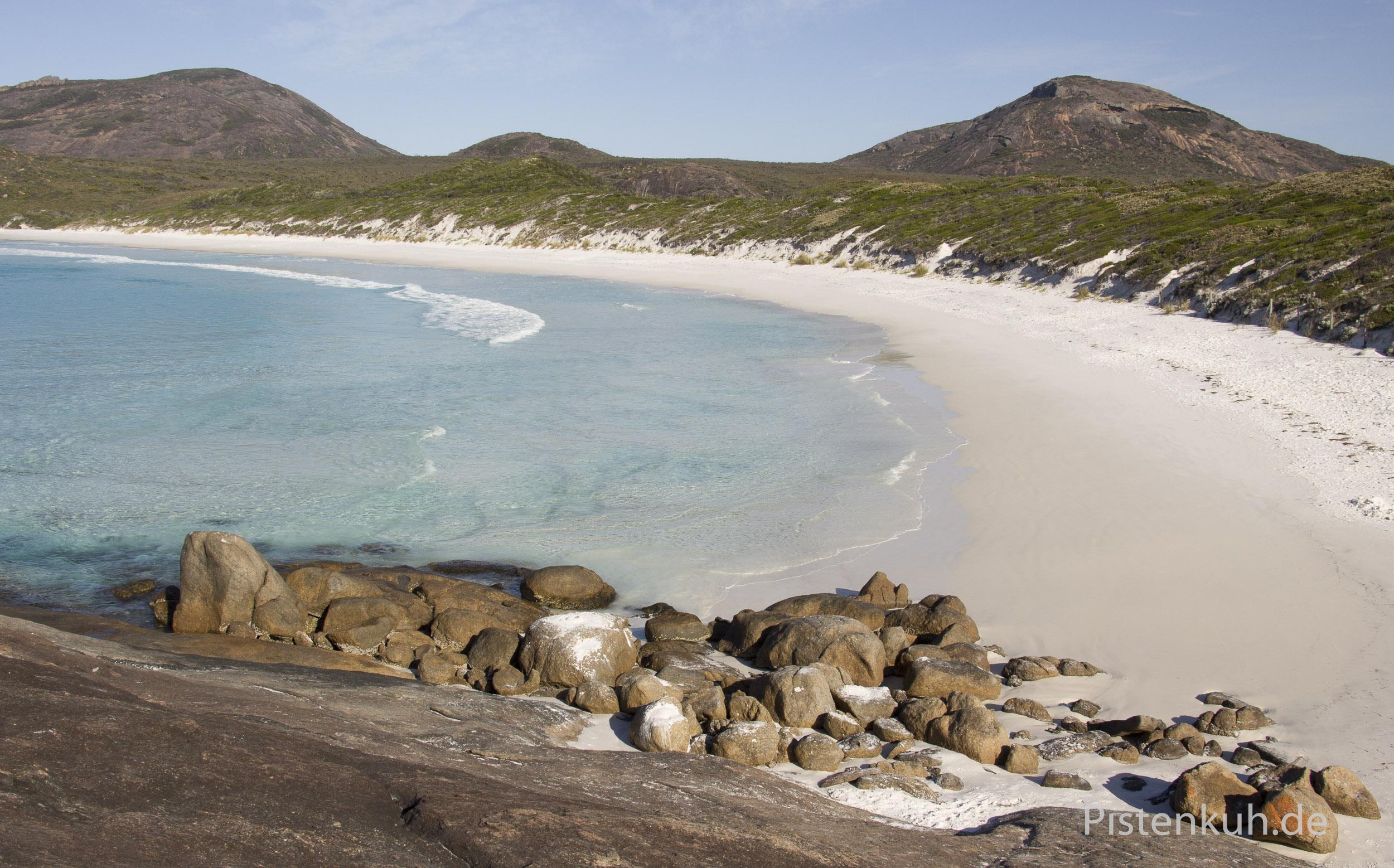 Australien-Strand-Einsam