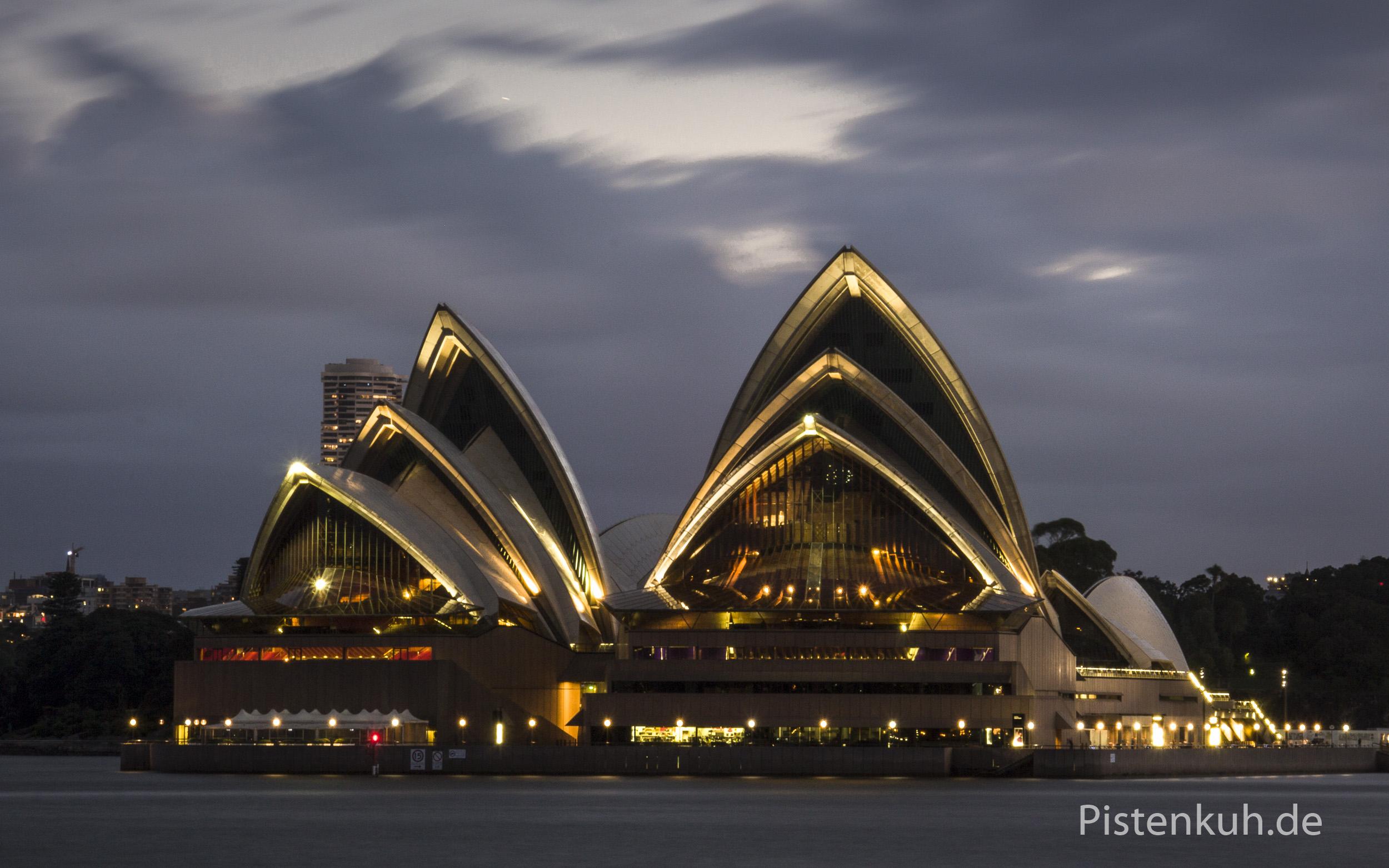 Australien-Sydney-Opernhaus
