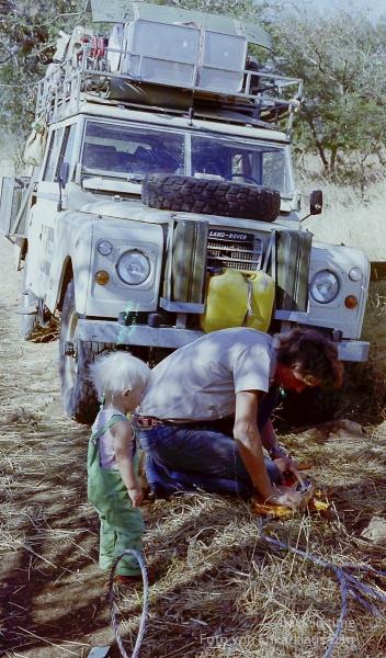 Auf Stein aufgefahren, Südsudan 1978