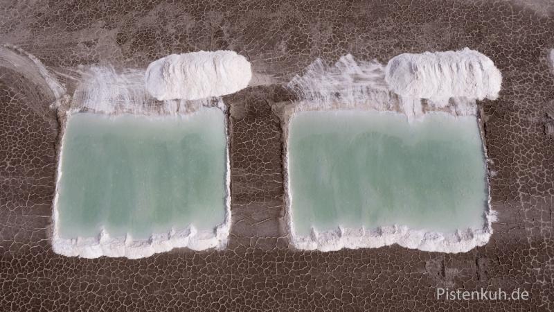 Iran-Salzgewinnung