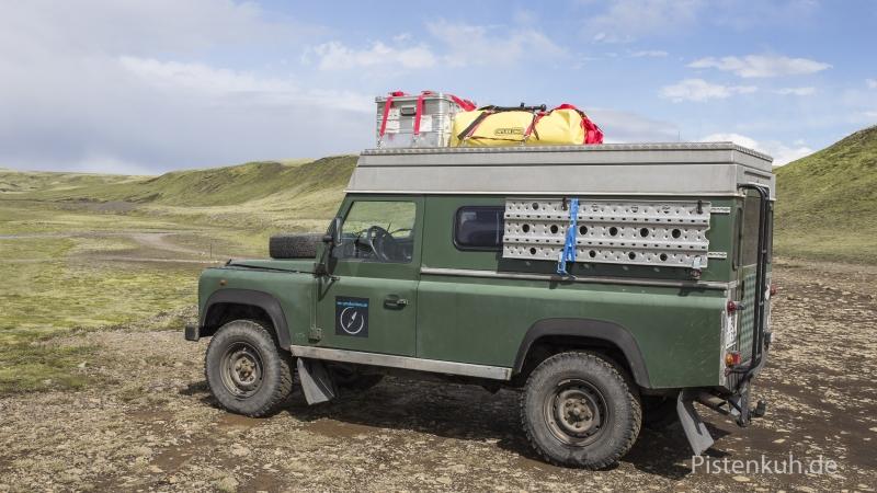 Land-Rover-Aufstelldach