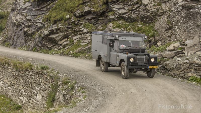 Land-Rover-Fernreisemobil