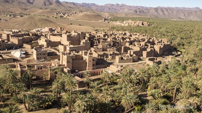 Luftbild-Marokko-Kasbah-Agdz