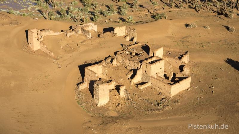 Luftbild-Marokko-Ruine-Kasbah-Tighremt-2
