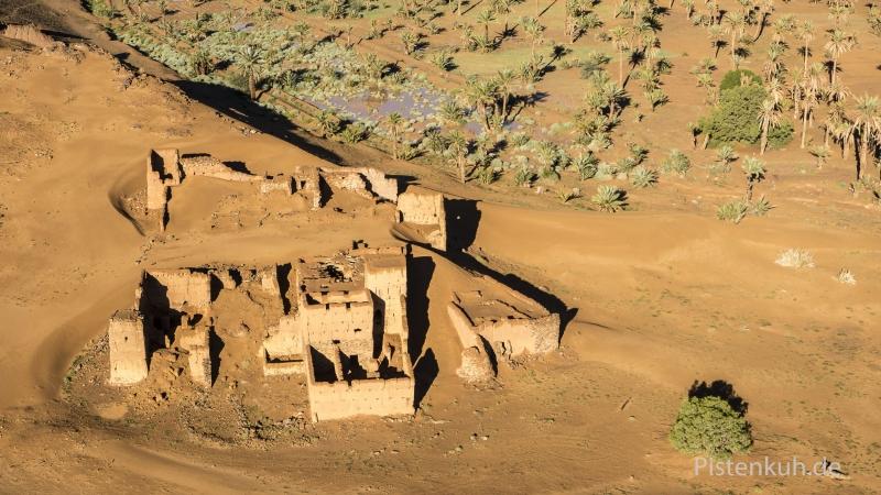 Luftbild-Marokko-Ruine-Kasbah-Tighremt-3