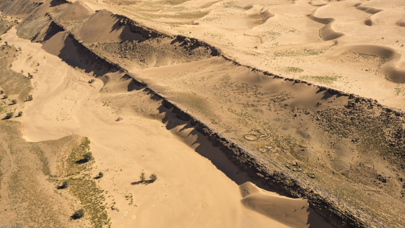 Marokko-Luftbild-Falise