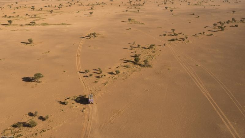 Mauretanien-Luftbild-Offroad