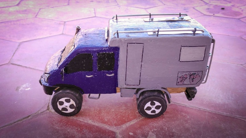 modellauto holz expeditionsmobil