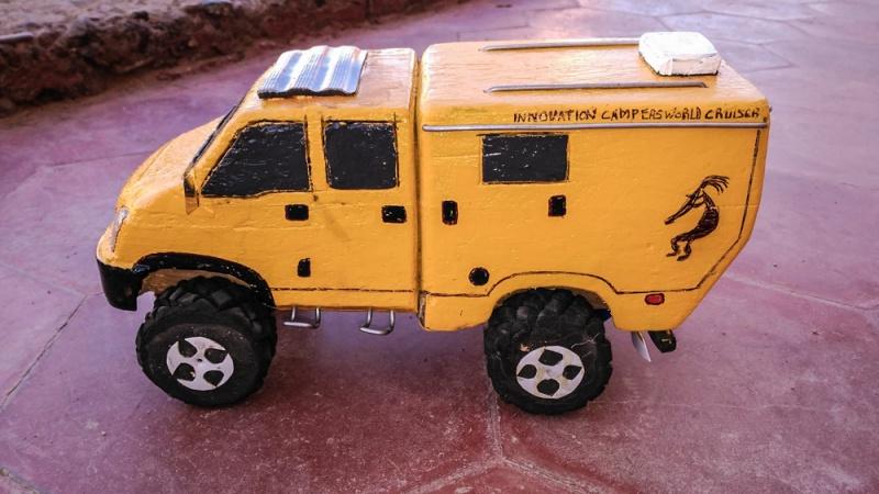 modellauto holz inovation camper