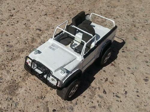 modellauto land rover cabrio