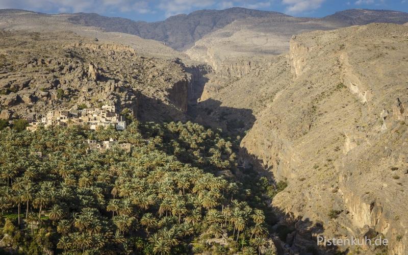 Oman-Misfah-Palmenhain-2