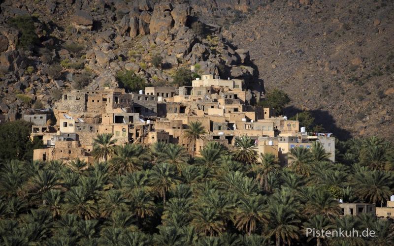 Oman-Misfah-Palmenhain