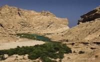Oman-Kueste-Wadi