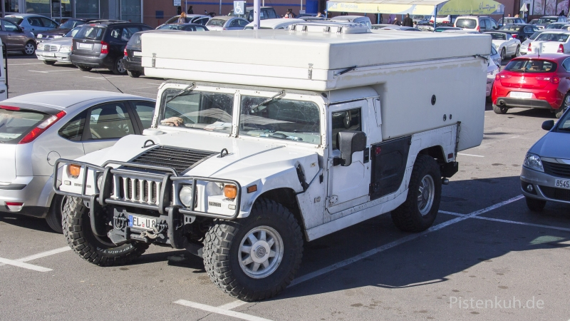 Hummer-Extrem-Expeditionsmobil