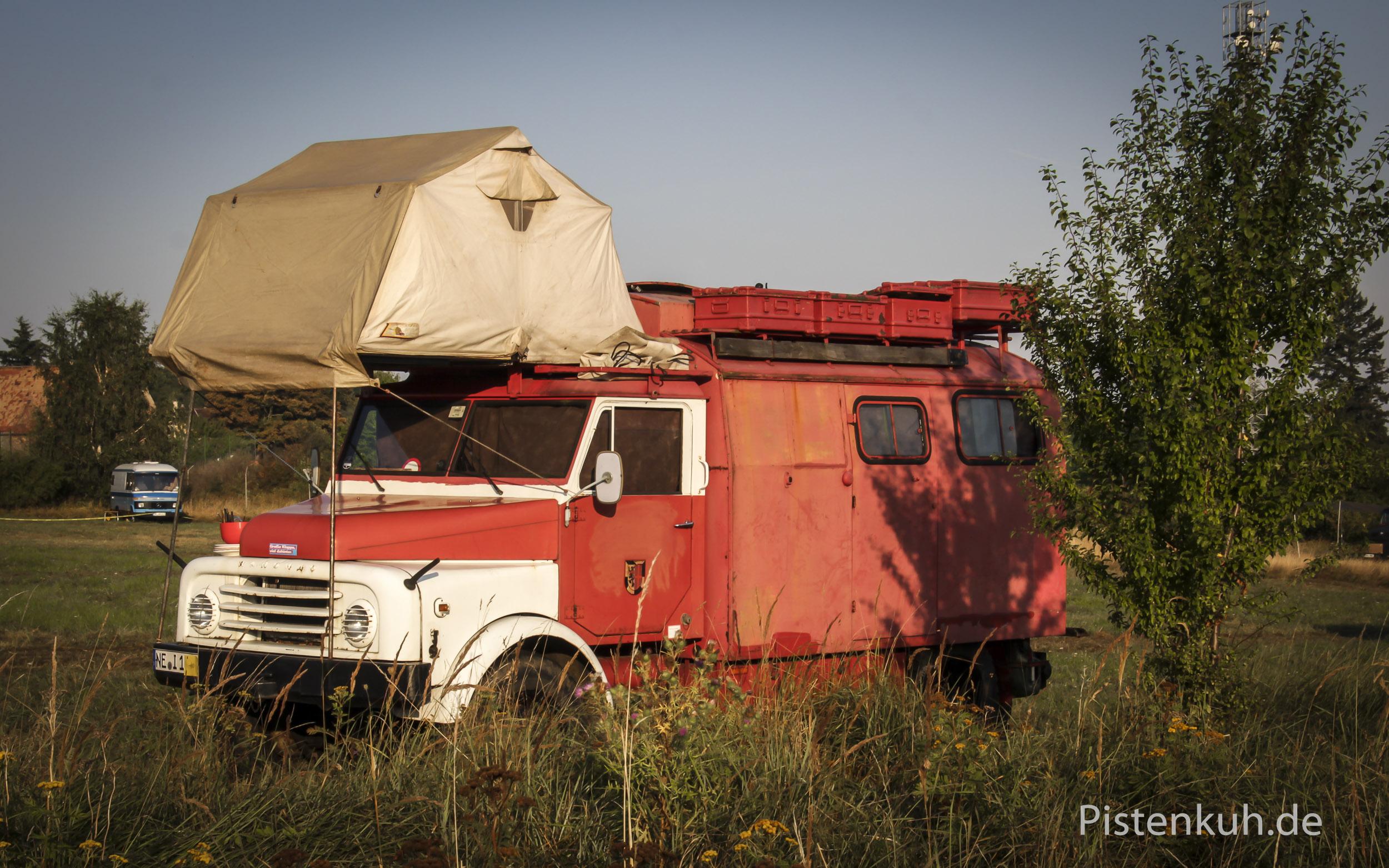 Sonstige Expeditionsmobile - Pistenkuh