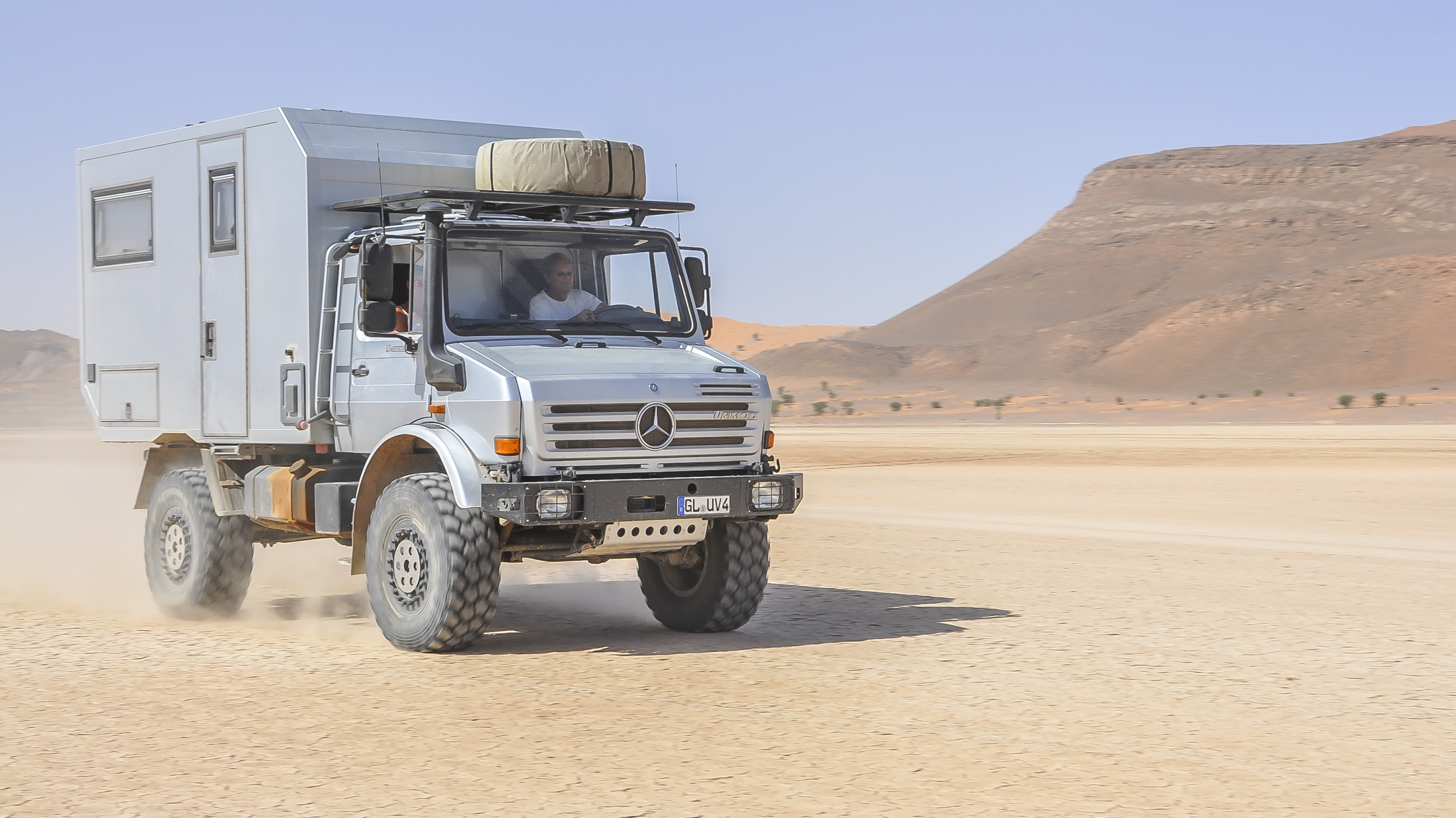 Unimog - Expeditionsmobile weltweit - Pistenkuh