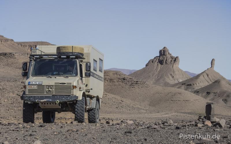Unimog-Expeditionsmobil
