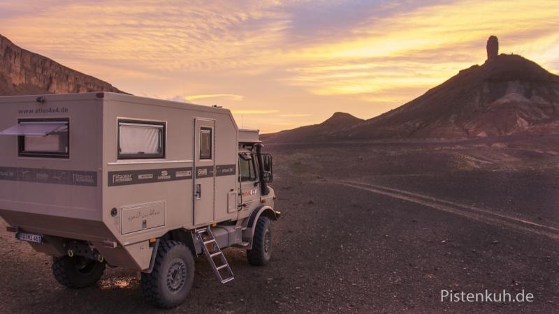 Unimog-U1300-Expeditionsfahrzeug