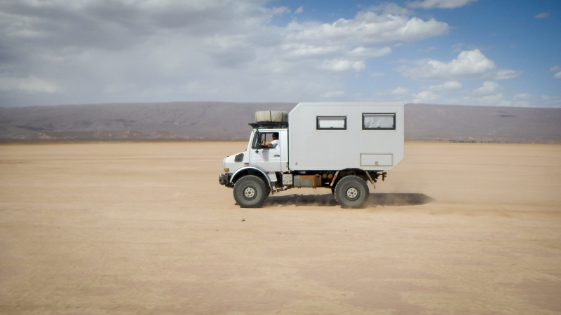 Unimog-U4000-Expeditionsmobil