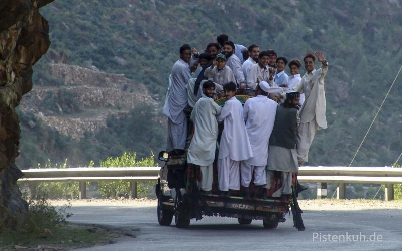 Pakistan-Personentransport