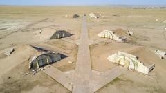 Ruinen Bayantal Airbase_