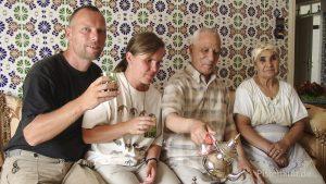 Einladung zum Tee in Casablanca