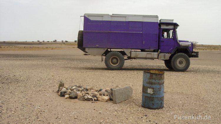 Unterwegs in Mauretanien