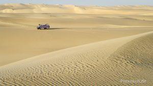 Das große Sandmeer bei Siwa