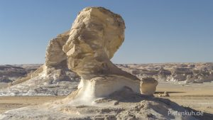 Skulpturen in der weißen Wüste