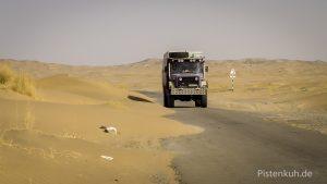 Die Strecke durch Belutschistan