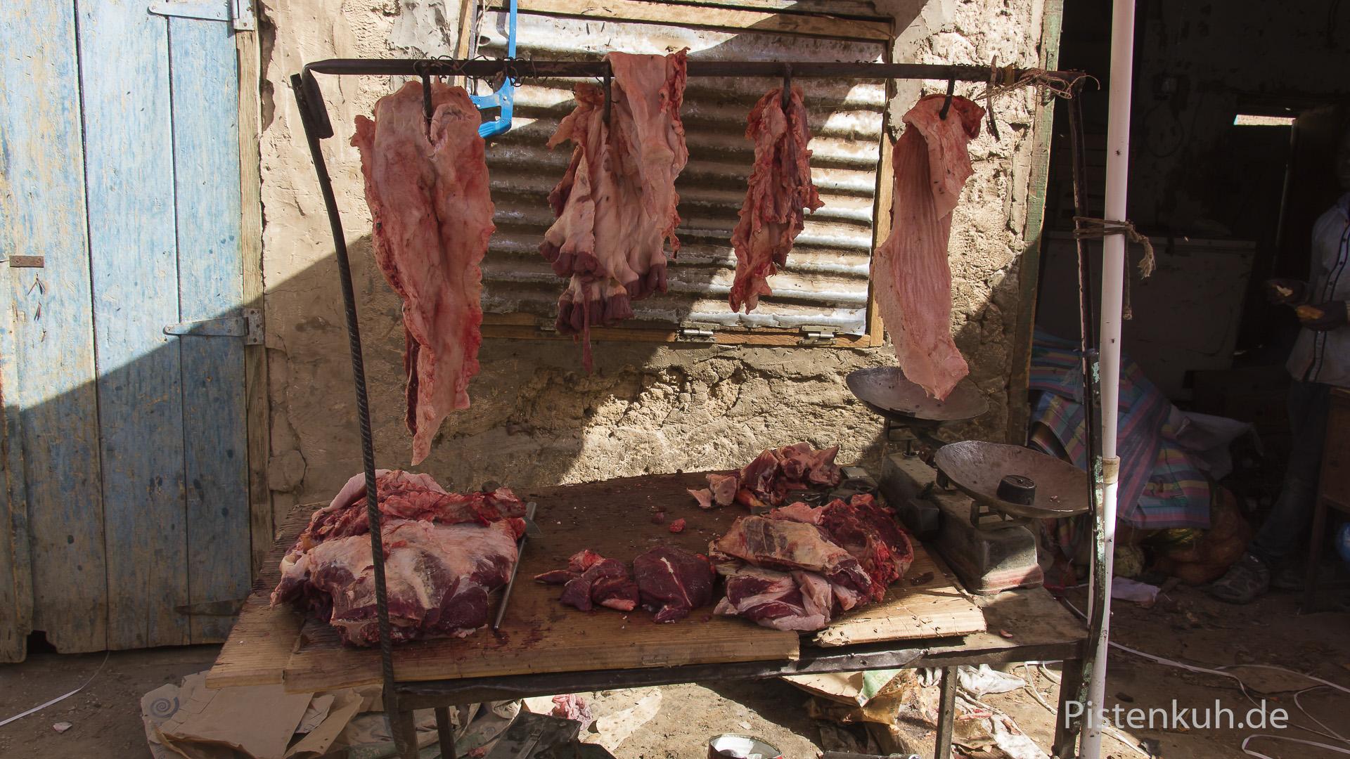 Fleischverkauf in Atar