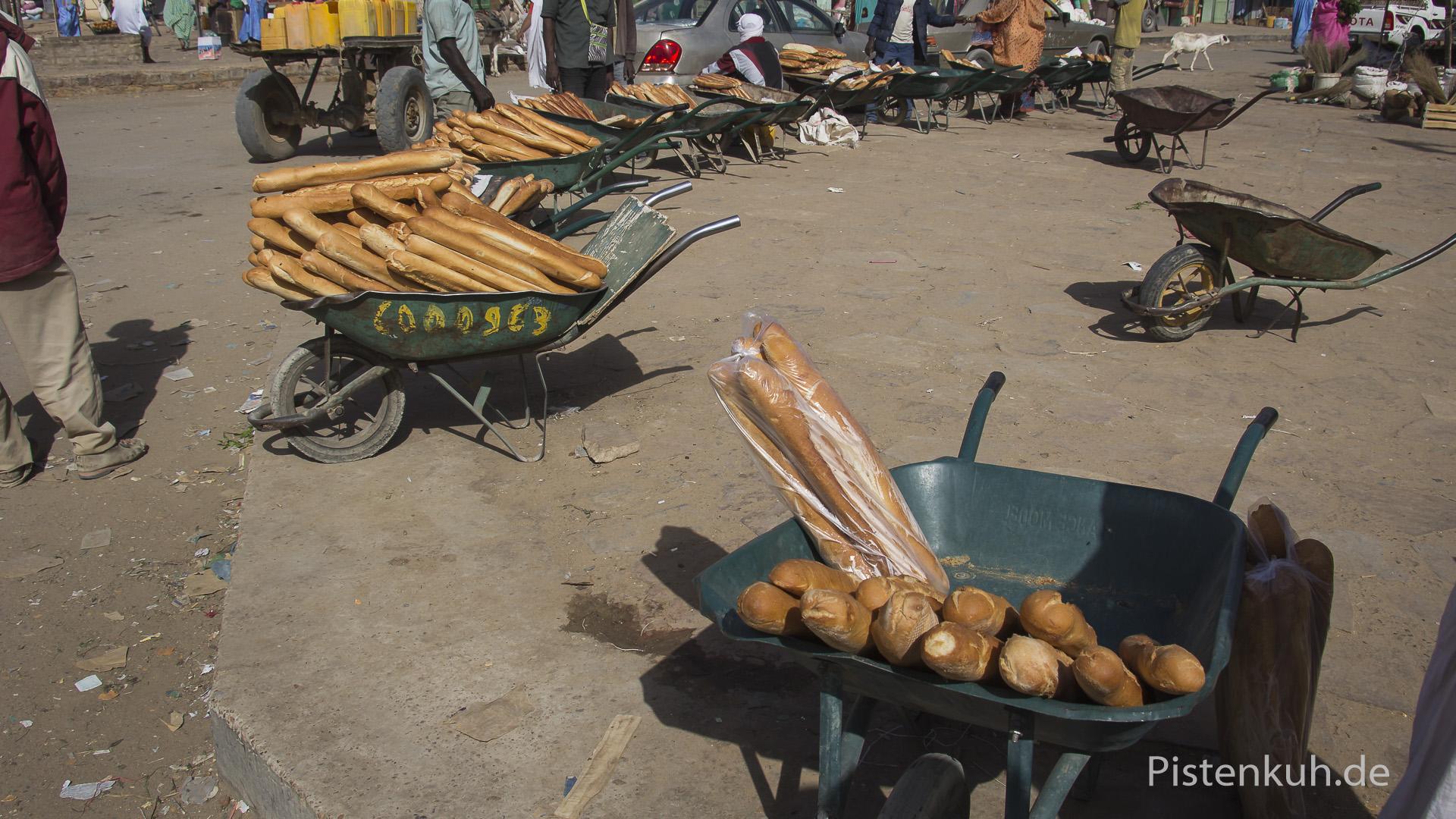 Brotverkauf in Atar
