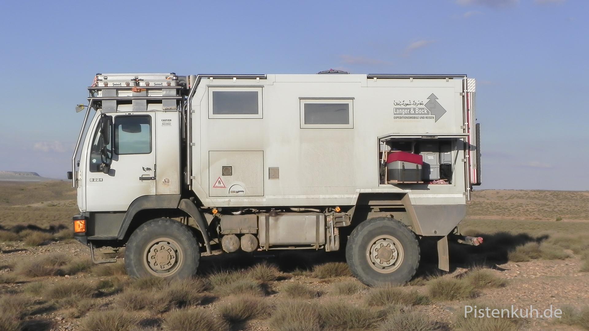 Expeditionsmobil MAN 8.224