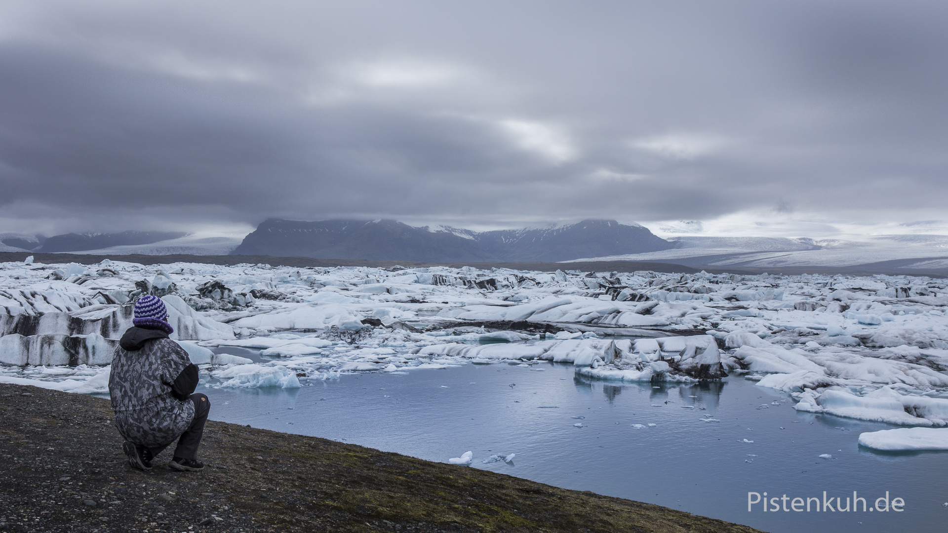 Eislandschaften in Island Jökulsarlon