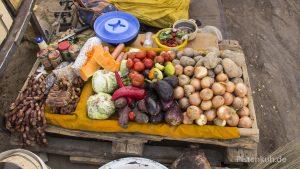 Gemüsemarkt in Atar