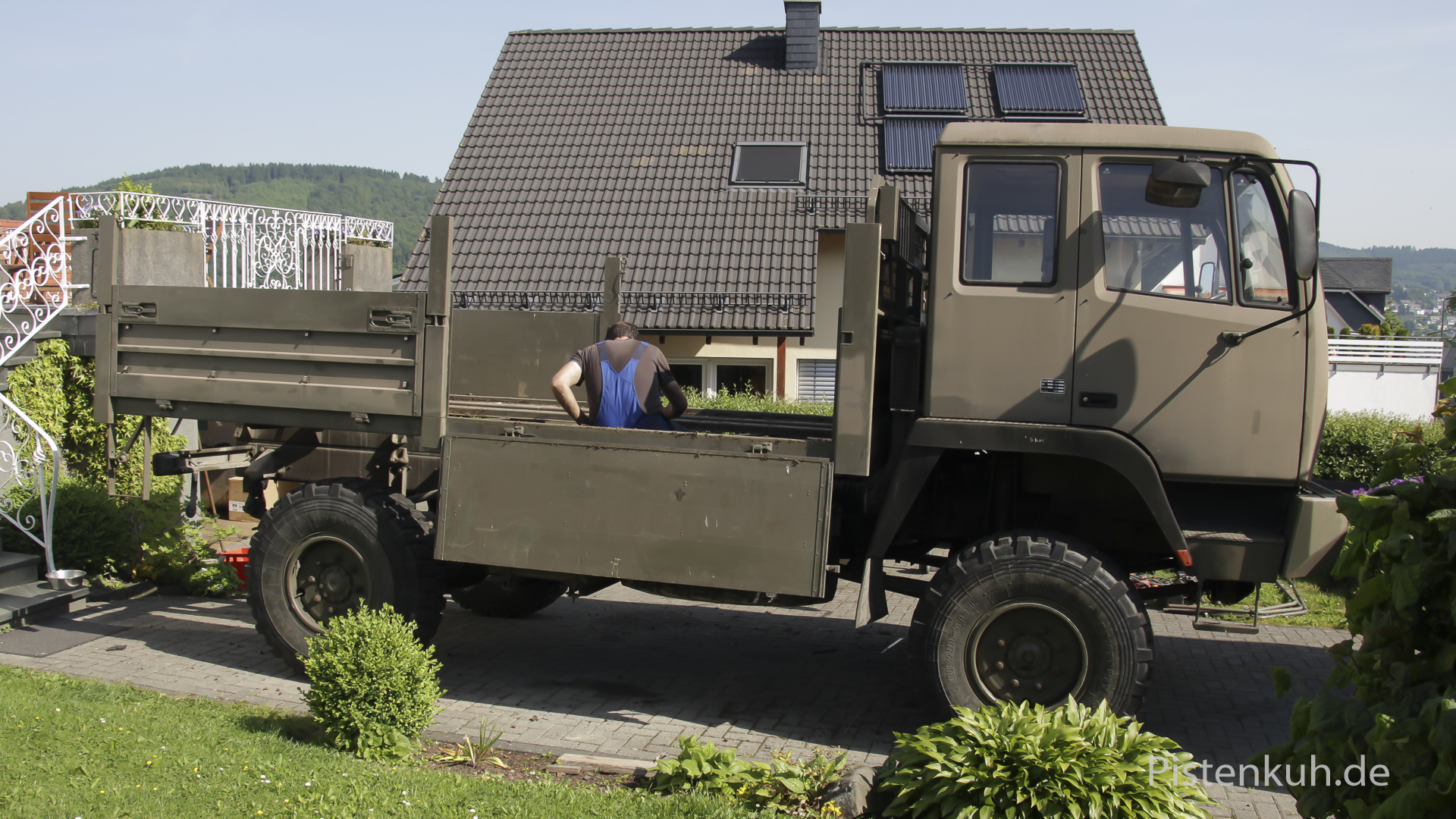 militaerlastwagen