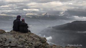 Wolkenbildung Monte Jafferau