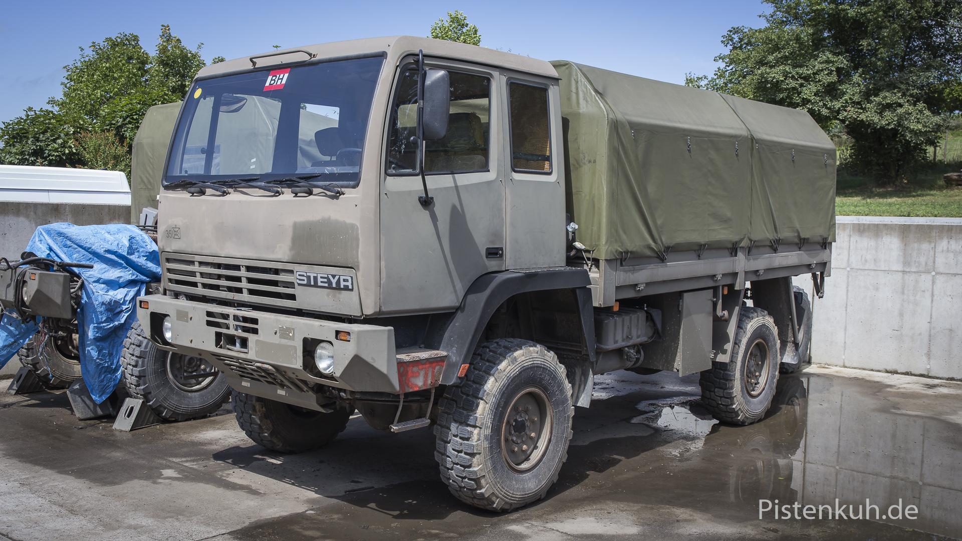 Steyr 12 m18 militär
