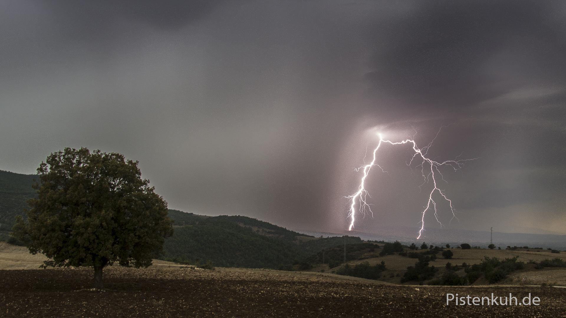 Gewitter in der Türkei