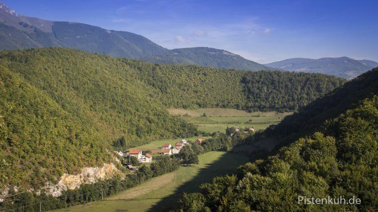 Siedlung in Bosnien