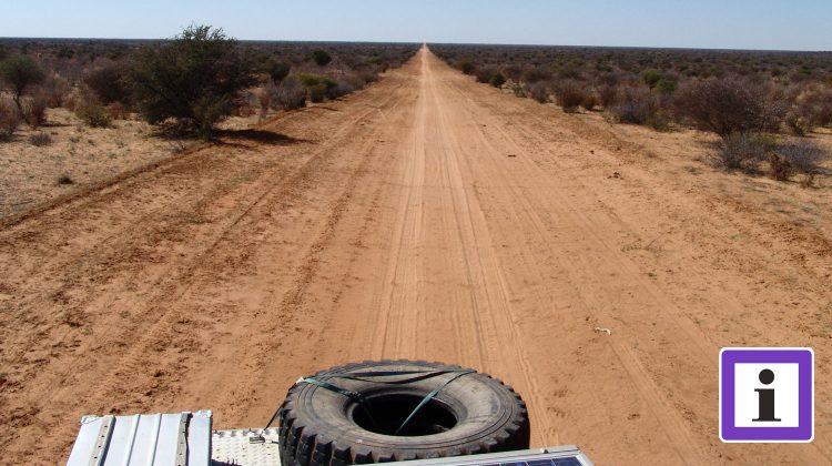 Piste in Botswana