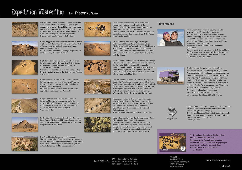 Expedition Wüstenflug Posterbuch Pistenkuh