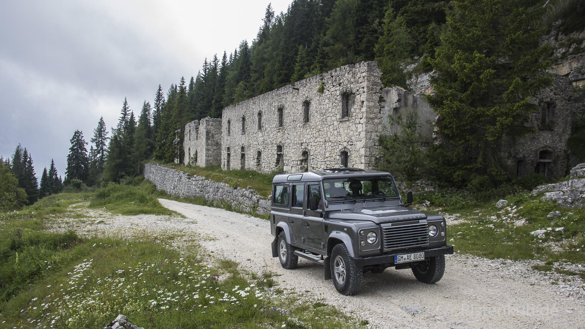 Fort aus dem 1.Weltkrieg in den Alpen