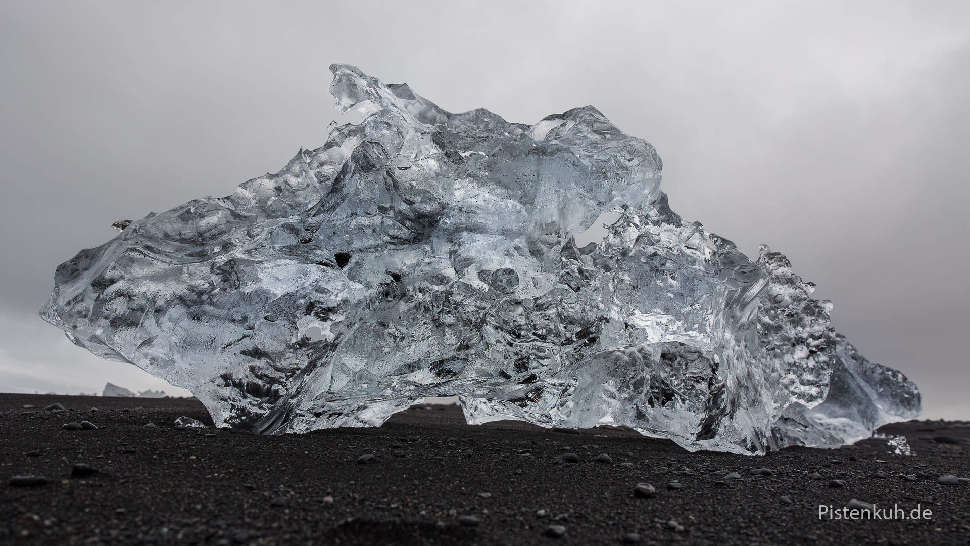 Eislandschaften am Jökulsalon