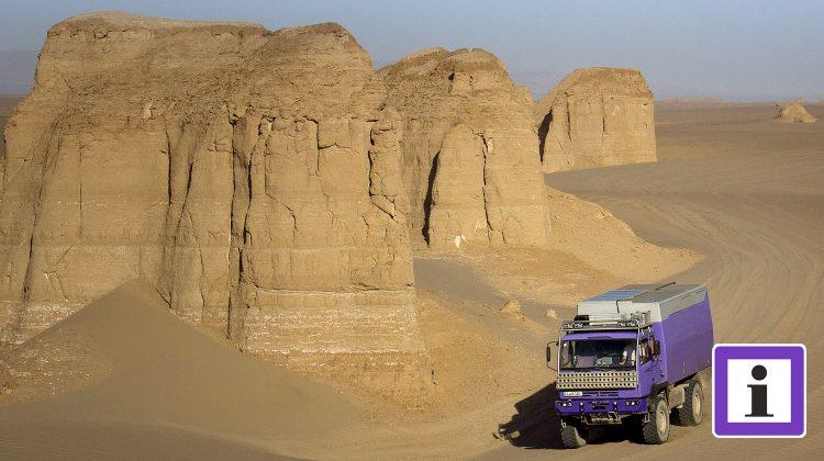 Wüste Lut in Iran