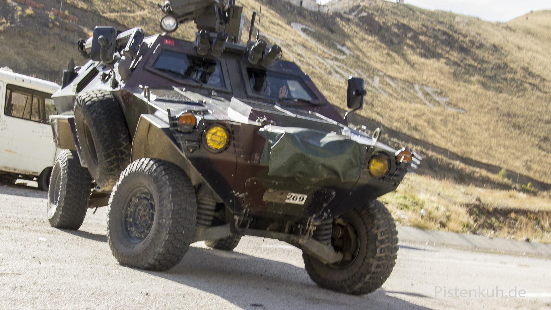 Armeefahrzeug der Türken