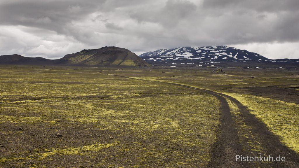 Piste in Island