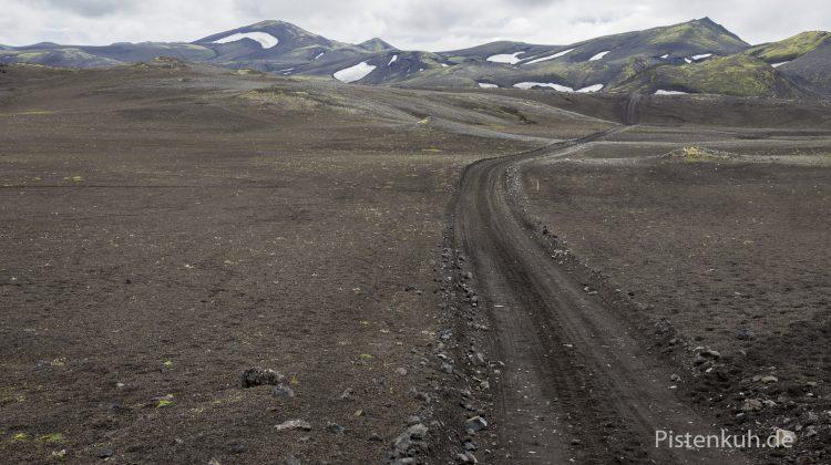 Naturpiste in Island