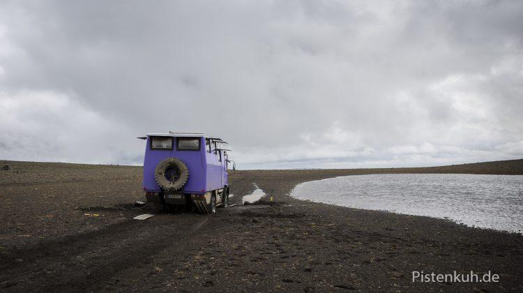 Island Schlammpiste
